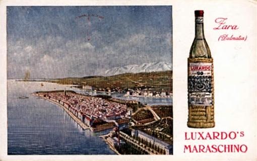 maraschino postcard