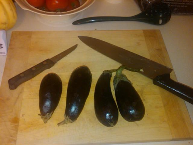 tiny eggplant